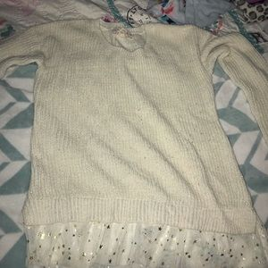 Pink republic worn once sweater